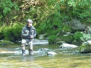 根魚釣師の休息日は、トラウティストへと姿を変える。