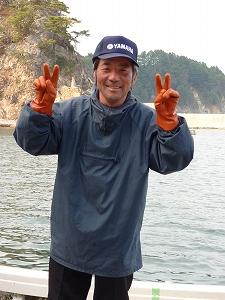 さくら丸の木川信保船長