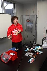 2011.10.10ノースキャストさんで開催された講習会の様子