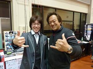 王様(ミラクルジム)こと、村田基さんと。