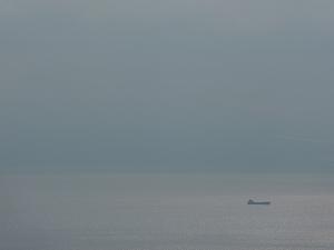 天気の良い日にはクジラやイルカが見えることもあるそうだ。