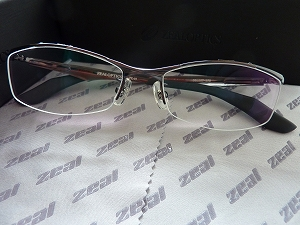 ZEAL OPTICS メガネZE-03