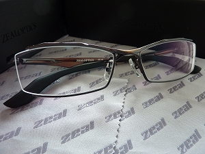 ZEAL OPTICS メガネZE-04