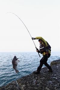 シューティンウェイSWC-802EXHスキップランのヘビーライト釣法でヒットさせた50UPクロソイもブチ抜きます!!