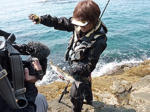 北の海ならではの魚、ホッケも登場。