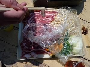 北海道の定番メニュー・ジンギスカン。美味い!