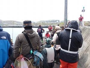 実釣セミナー風景1