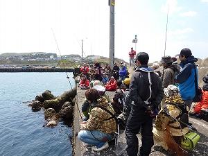 実釣セミナー風景2