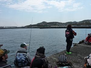 実釣セミナー風景4
