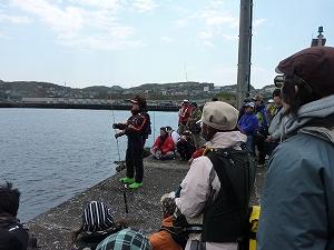 実釣セミナー風景5