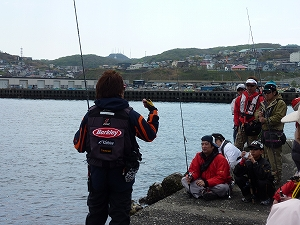 実釣セミナー風景6