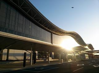 朝一の仙台空港の常連です